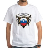 Number One Slovenian Grandpa Shirt