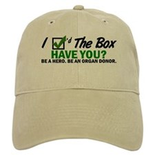 Check The Box 2 Baseball Cap