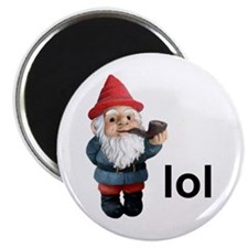 Lol Gnome Magnet