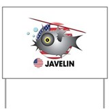 javelin Yard Sign