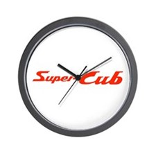 Super Cub Wall Clock
