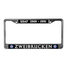 Zweibrucken Air Base License Plate Frame