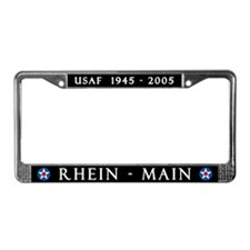 Rhein-Main Air Base License Plate Frame