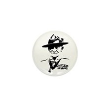 Baden Powell Mini Button (10 pack)