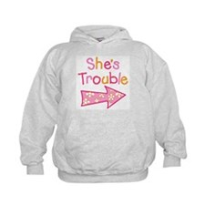Unique Twin girls Hoodie