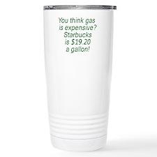 Gas vs. Coffee Travel Mug