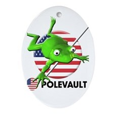 polevault Oval Ornament