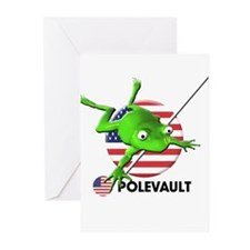 polevault Greeting Cards (Pk of 20)