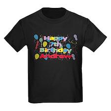 Andrew's 7th Birthday T