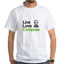 Mozart's Live Love Compose Shirt