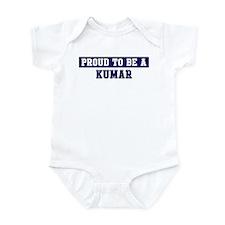 Proud to be Kumar Infant Bodysuit