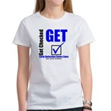 Colon Cancer Get Checked Tee
