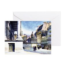 Paris Bourse (blank) Cards (Pkg.of 6)