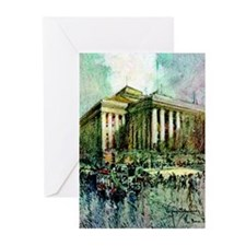 Paris Bourse Greeting Cards (Pk of 10)