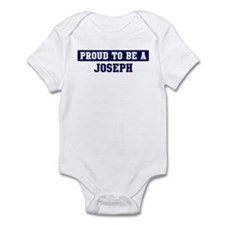 Proud to be Joseph Infant Bodysuit