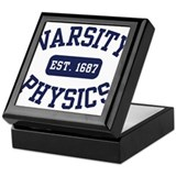 Varsity Physics Keepsake Box