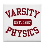 Varsity Physics Tile Coaster
