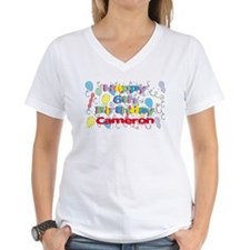 Cameron's 6th Birthday Shirt