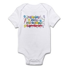 Cameron's 6th Birthday Infant Bodysuit