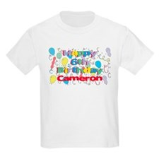 Cameron's 6th Birthday T-Shirt