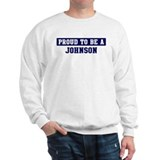 Proud to be Johnson Jumper