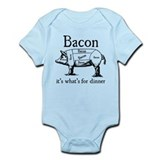 Bacon: It's what's for dinner Infant Bodysuit