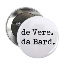 "de Vere da Bard 2.25"" Button (10 pack)"