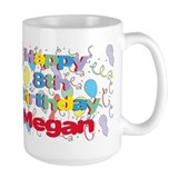 Megan's 8th Birthday Mug