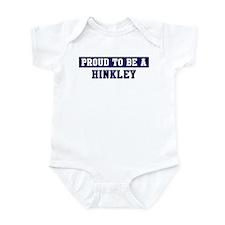 Proud to be Hinkley Infant Bodysuit