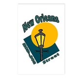 New Orleans Bourbon Street Postcards (Package of 8