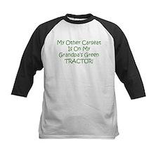 Carseat Grandpas Green Tractor Tee