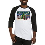 XmasMagic/2 Dobies (P3) Baseball Jersey