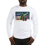 XmasMagic/2 Dobies (P3) Long Sleeve T-Shirt