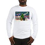 XmasMagic/3 Cockers Long Sleeve T-Shirt