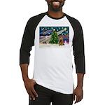 XmasMagic/Cocker (Brn) Baseball Jersey