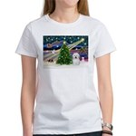 Xmas Magic & Coton De Tulear Women's T-Shirt