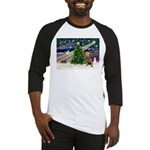 xmas magic & Airdale (14) Baseball Jersey