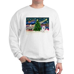 Xmas Magic & Eskimo Spitz Sweatshirt