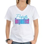 Perfectly Imperfect Women's V-Neck T-Shirt