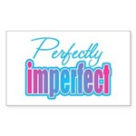 Perfectly Imperfect Rectangle Sticker