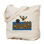 Lab in Ducks Tote Bag