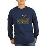 Lab in Ducks Long Sleeve Dark T-Shirt