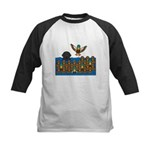 Lab in Ducks Kids Baseball Jersey