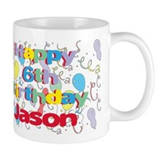 Jason's 6th Birthday Mug