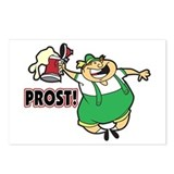 Humorous Oktoberfest Postcards (Package of 8)