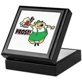 Humorous Oktoberfest Keepsake Box
