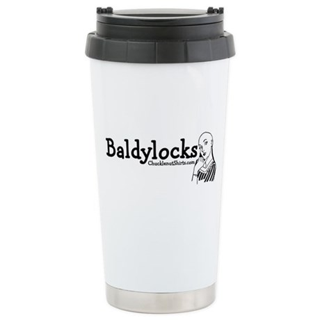 Baldylocks Ceramic Travel Mug