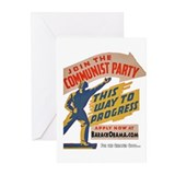 Join The Communists! Greeting Cards (Pk of 20)