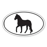 Paso Fino Oval Decal