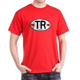 Turkey Euro Oval T-Shirt